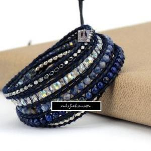 The Midnight Blue Wrap - Natural St..